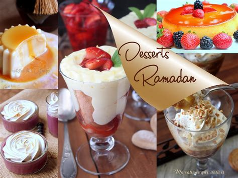 desserts de ramadan 2017 recettes faciles recettes