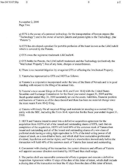 Letter Of Intent For Business Venture Mining Global Inc Form 8 K Ex 99 1 Letter Of Intent Between The Company And Healthcare