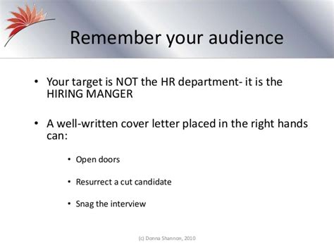 the importance of a cover letter the importance of creative cover letters