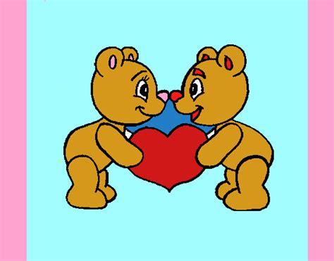 imagenes de osos del dia del amor y la amistad dibujo de feliz d 237 a del amor y la amistad pintado por en