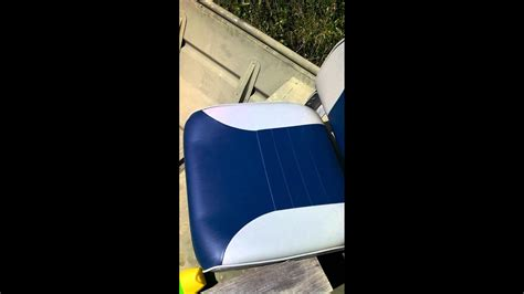 removing mold from boat seats removing mildew mold from your boat seats youtube