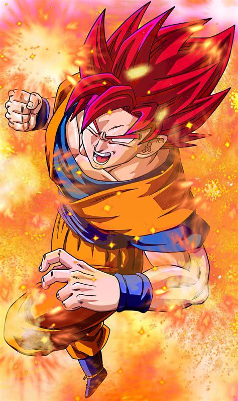 dragon ball z wallpaper goku super saiyan god super saiyan god bing images