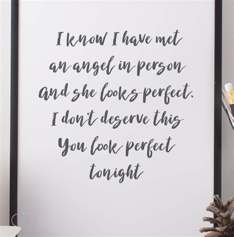 ed sheeran perfect quotes perfect lyrics images invitation sle and invitation