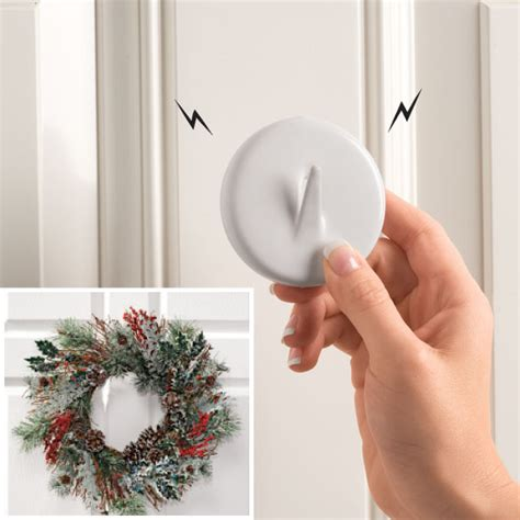 Premium Magnetic Wreath Hangers Magnets By Hsmag Wreath Hanger For Glass Door