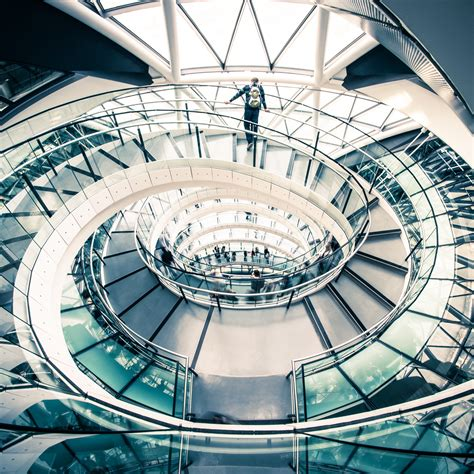LOCATIONS London's Spiral Staircases Aaron Yeoman Photography