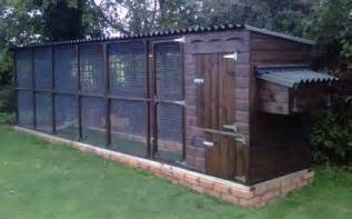 james chicken coop with large run for 6 to 8 chickens
