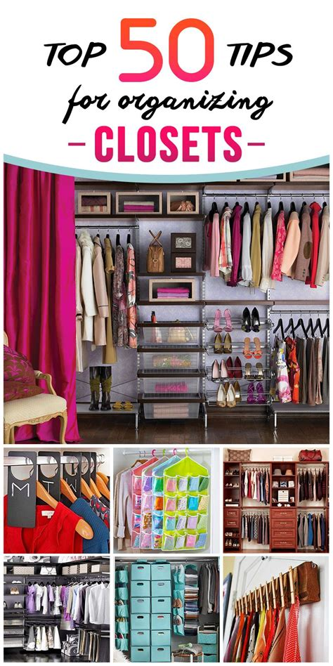 Creative Closet Organization by Tips And Organization Ideas For Your Closet Closet Organization Creative And Wire Baskets