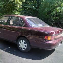 97 Toyota Camry Only 32 Made In The World 1993 Toyota Camry Le Burgundy Only 97k In