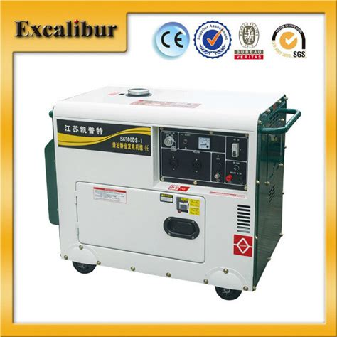 186fae powered silent diesel generator for home use
