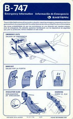 airline safety card template 1000 images about safety cards on safety