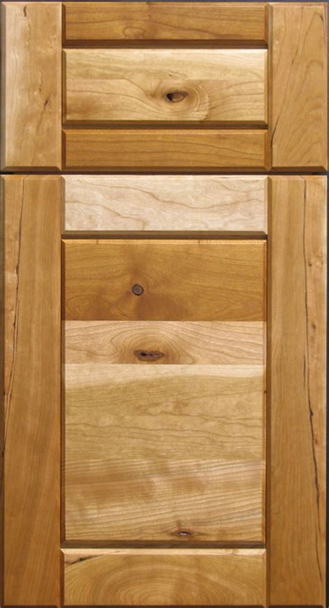 rustic cherry raised panel cabinet door rustic other