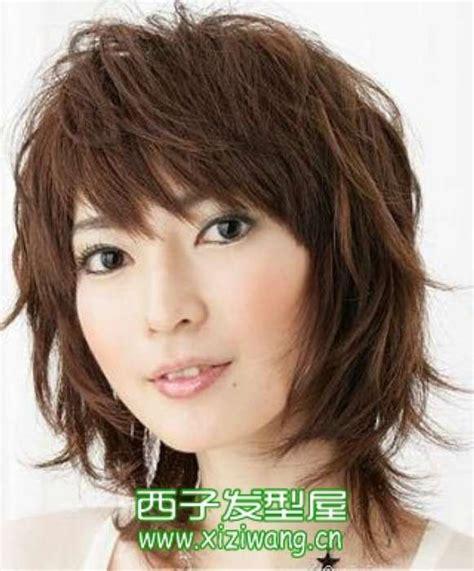 shaggy hair chubby cheeks 头发少的人适合什么发型图片 发型知识 西子网xiziwang cn