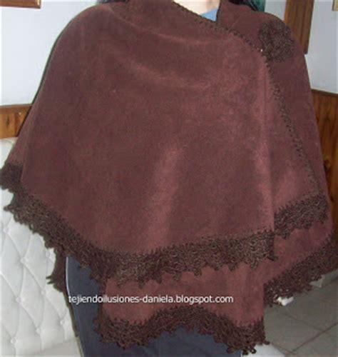 como hacer una ruana tejido crochet y artesan 237 as ruana o capa