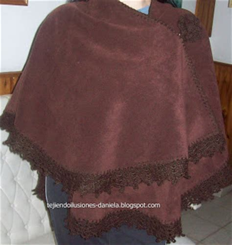 como hacer ruana tejido crochet y artesan 237 as ruana o capa