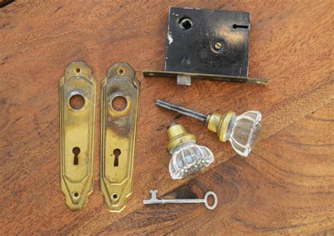 door knob mortise lock set by trashtiques