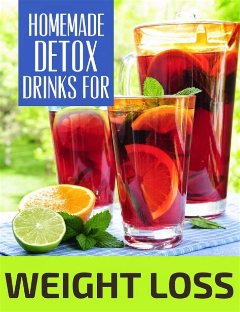 Diy Detox Drinks For Test by Detox Drinks For Weight Loss Pin Remedies