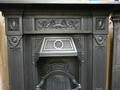 antique cast iron fireplace antique cast iron fireplace the scotia 098lc fireplaces