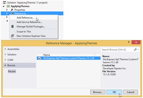 devexpress theme editor wpf applying a modified theme to a wpf application wpf