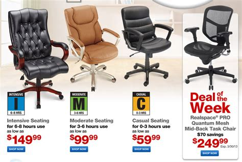 office depot furniture sale last week to save on chairs and desks at office depot furniture event