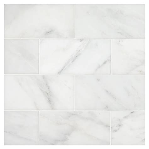 white blossom honed 3 quot x 6 quot natural stone marble subway tile