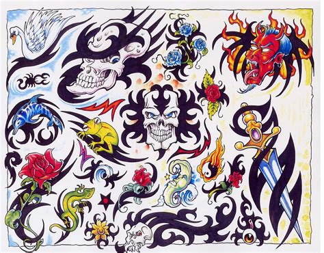 devilish tattoo design images designs