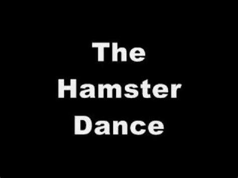 youtube music hamster dance the hamster dance youtube