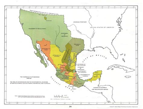 texas and new mexico map talk new spain