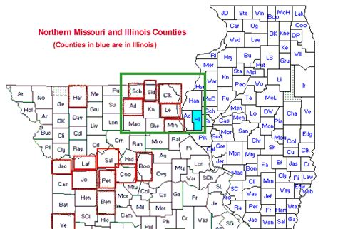 map mo and il smallwoods in shelby county kentucky