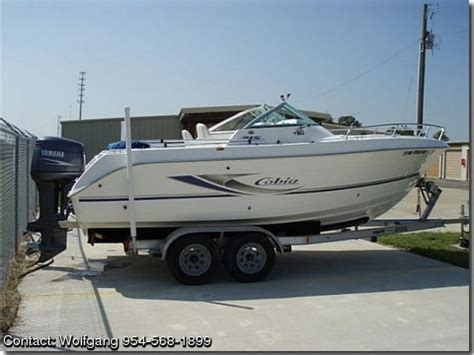 cobia boats for sale by owner 2004 cobia 215 dc pontooncats