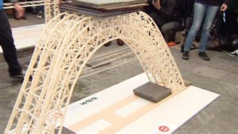 imagenes de puentes hechos de palitos puente ecol puentes echos con palitos de helado imagenes antena 3 tv 191 cu 225 nto puede resistir un puente