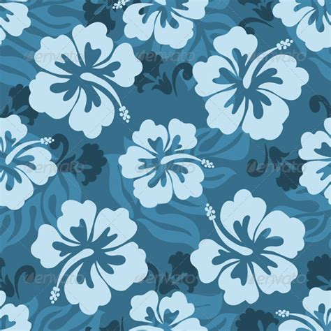 hawaii pattern background hawaiian seamless pattern by kitatelles graphicriver
