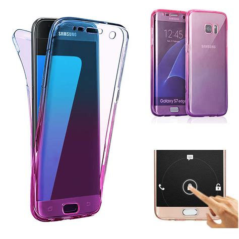 Samsung S7 Edge Iron 3 Artwork Casing Cover Hardcase gradient color 360 176 front and back protective tpu cover for samsung galaxy s7 edge