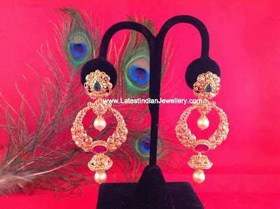 Vm Pin Dasi Jepitan Dasi Silver chand bali earrings design collection