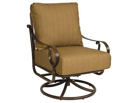 rocking chair replacement cushions woodard ridgecrestswivel rocking lounge chair replacement