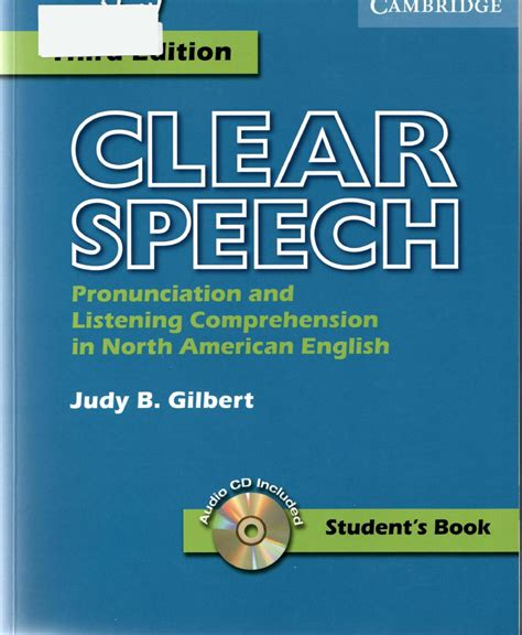 clear speech from the start student s book with integrated digital learning basic pronunciation and listening comprehension in american books clear speech student s book pronunciation and listening