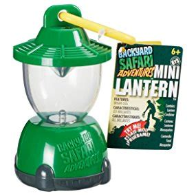 backyard safari lantern amazon com backyard safari mini lantern toys games