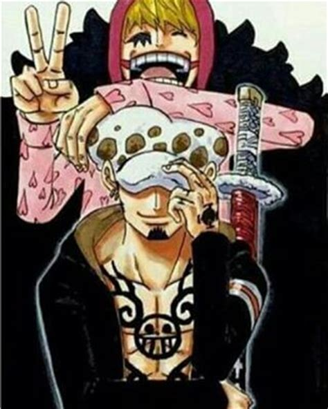 one piece corazon tattoo trafalgar d water law and donquixote rocinante corazon