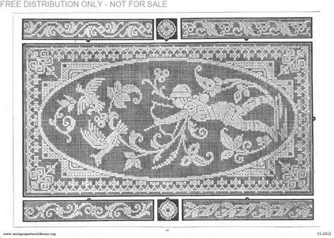 antique pattern library dmc apl b af003 filet ancien au point de reprise xii le page 15