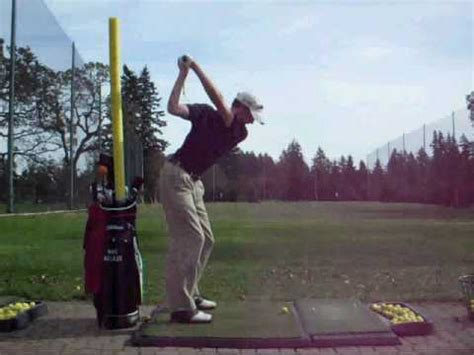how to fix a flat golf swing golf lesson fix flat swing drill youtube