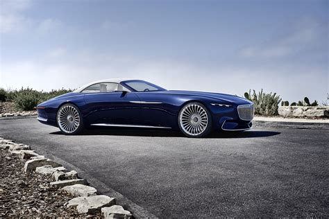 Monterey Mercedes by 2017 Monterey The Vision Mercedes Maybach 6 Cabriolet