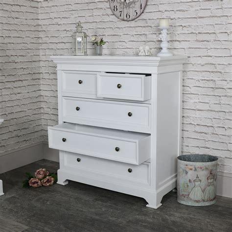 5 drawer chest white white five drawer chest of drawers daventry white range