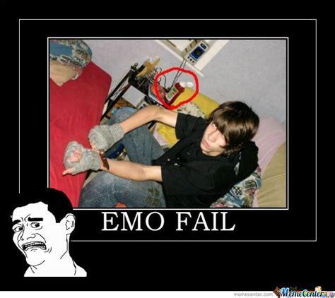 Emo Memes - emo fail by idontreallycare meme center