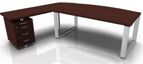 desk with drawers on left side executive desk with curved pedestal galaxyx