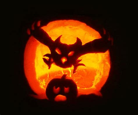 40 best cool scary halloween pumpkin carving ideas