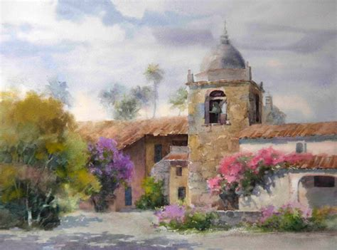 painting workshop buildings tip for painting landscapes with buildings create a