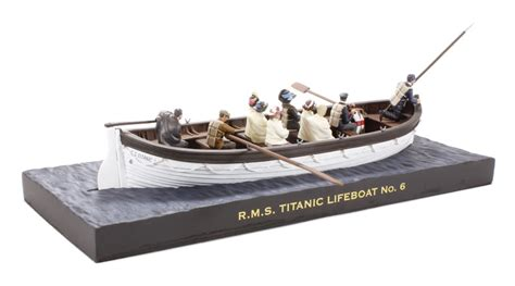 titanic toy boat uk hattons co uk w britain 62001 rms titanic lifeboat no 6
