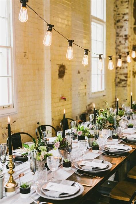 industrial wedding table decorations 17 best ideas about industrial wedding decor on