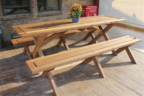 creative  cool picnic table design   yard