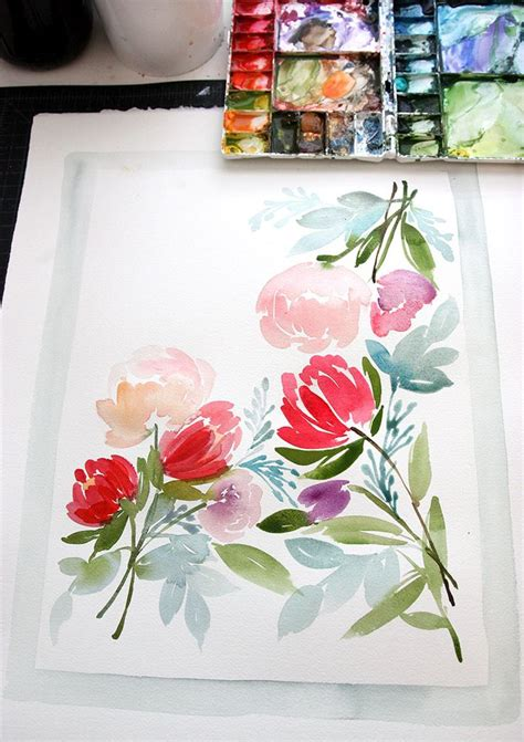 best 25 simple watercolor paintings ideas on simple waterpaint ideas and