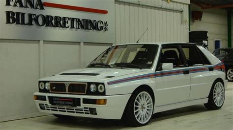 martini lancia mint condition lancia delta hf integrale evoluzione